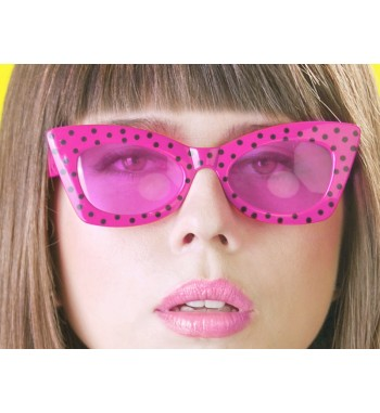 Okulary Pink with Black,...