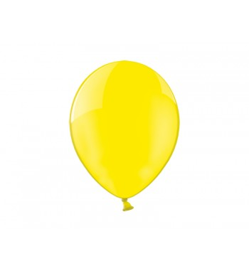 Balony 12'', Crystal Yellow...