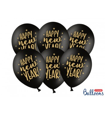 Balony 30cm, Happy New...